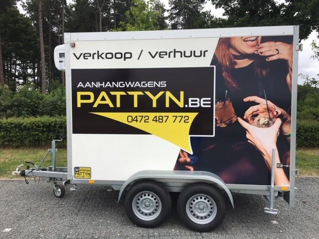 Location remorque frigo weekend - remorques Stefaan Pattyn